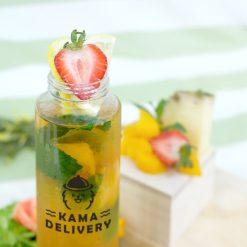 【果茶】夏日水果茶|單點到會外賣飲品|Kama Delivery