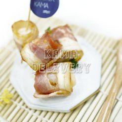 一口煙肉荔枝卷|單點到會小食|Kama Delivery