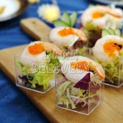 和風海蝦沙律|單點到會沙律|Kama Delivery