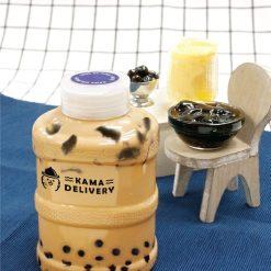 奶茶三兄弟(仙草、布丁、波波) 單點到會外賣飲品 Kama Delivery