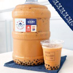 桶裝珍珠奶茶|單點到會外賣飲品|Kama Delivery