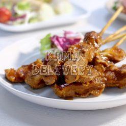 沙嗲串燒豬肉|單點到會小食|Kama Delivery