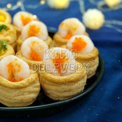 芒果醬海蝦酥盒|單點到會小食|Kama Delivery