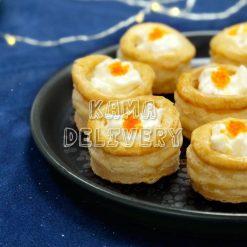蟹籽雞蛋沙律酥盒|單點到會小食|Kama Delivery