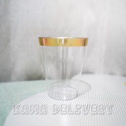 金邊杯子|到會派對用品|Kama Delivery