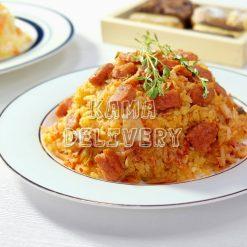 韓式泡菜新餐肉蛋炒飯|單點到會飯類|Kama Delivery