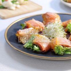 韓式泡菜鴨胸米紙卷 單點到會小食 Kama Delivery
