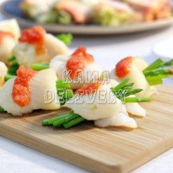 香煎比目魚蘆筍卷|單點到會小食|Kama Delivery