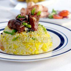 香蒜和牛蘆筍炒飯|單點到會飯類|Kama Delivery