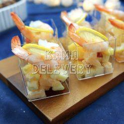 鮮果大蝦沙律|單點到會沙律|Kama Delivery