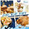 適合16-18人享用的Junk Boat Party Set|船P船河派對|多人到會外賣套餐|Kama Delivery