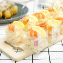 鮮果大蝦沙律|Kama自選人數套餐|平價派對到會外賣套餐|Kama Delivery